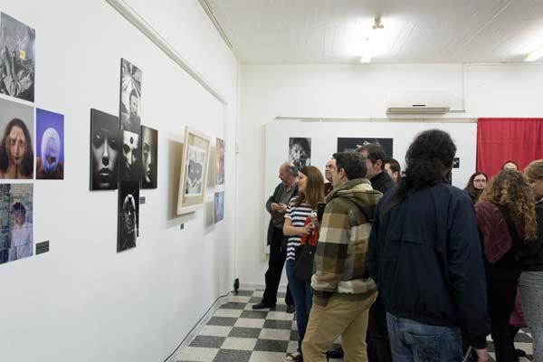 Φωτογραφία από τον χώρο της έκθεσης