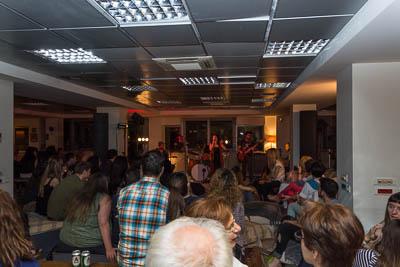 StarWound live, έκθεση Νίκου Βούλγαρη