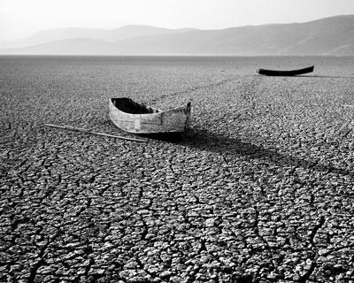 Η αποξηραμένη Λίμνη Κάρλα