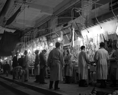 Κρεοπωλεία στη Λάρισα, 1960