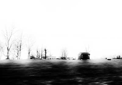 ασπρόμαυρο τοπίο