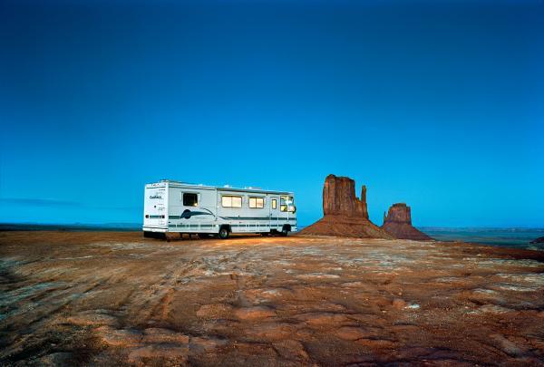 τροχόσπιτο, Monument valley, Arizona