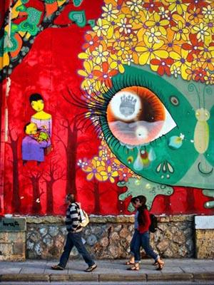 γκράφιτι, περαστικοί