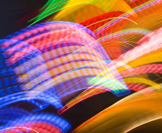 χρωματιστά φώτα