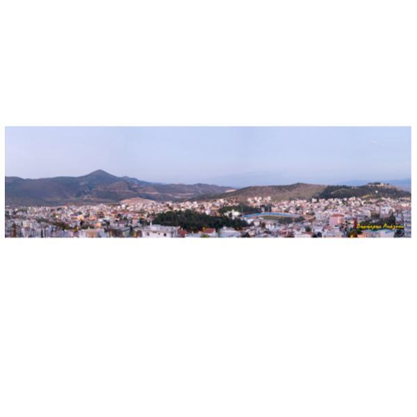πανοραμική φωτογραφία, πόλη