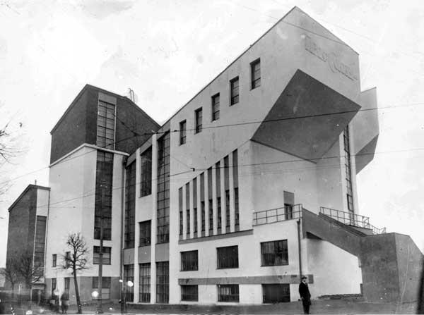 ασπρόμαυρη φωτογραφία, κτίριο στη Ρωσία 1915- 1935