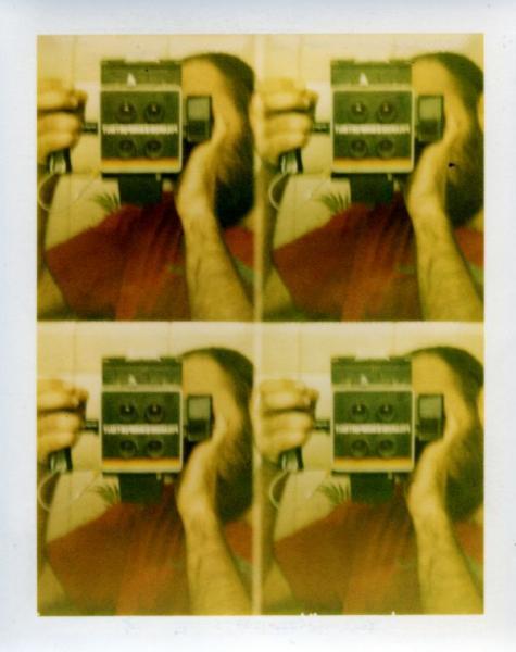 κολλάζ, αυτοπορτραίτο, polaroid