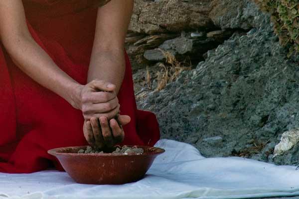 φωτογραφία γυναίκας που φυτεύει