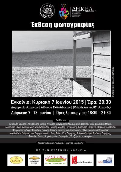αφίσα έκθεσης ΔΗΚΕΑ