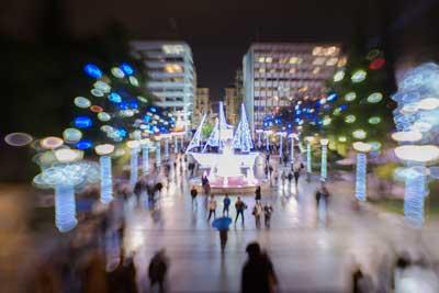 december nights, έγχρωμη νυχτερινή φωτογραφία
