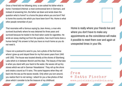 postcard from Hatto Fisher