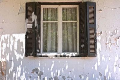 παράθυρο σπιτιού
