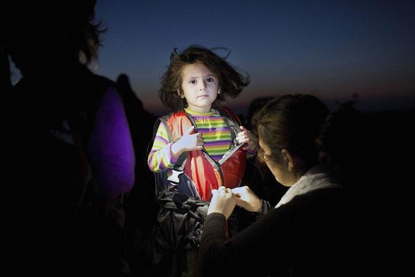 πορτραίτο προσφυγόπουλου