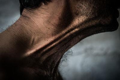 αντρικός λαιμός, φλέβες