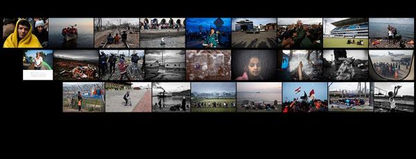 """κολλάζ φωτογραφιών """"Μια άλλη ζωή"""""""
