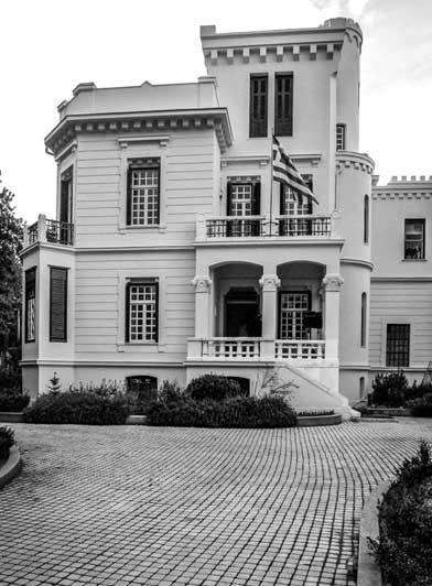 ασπρόμαυρη φωτογραφία / Σπίτι Δέλτα