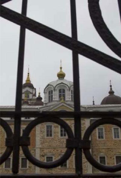 φωτογραφία απο μία εκκλησία στο Άγιο Όρος