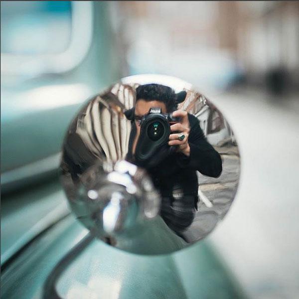 αντανάκλαση σε καθρεφτη, selfie, Nikon