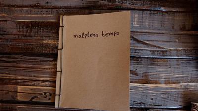 εξώφυλλο φωτοbook Malplena Tempo