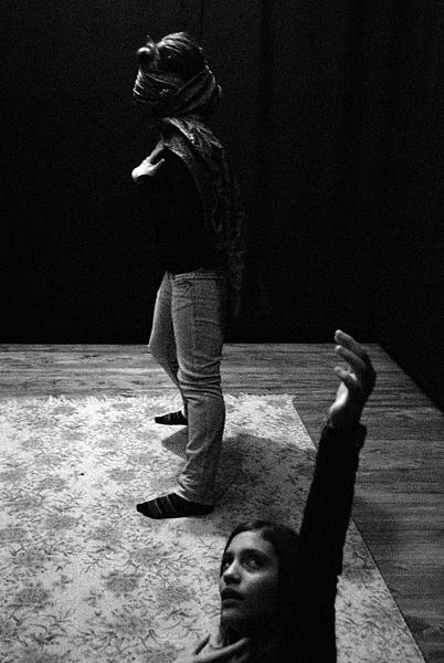 ασπρόμαυρη φωτογραφία, χοροθέατρο