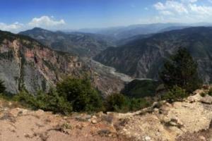 πανοραμική φωτογραφία, βουνά Πόντου