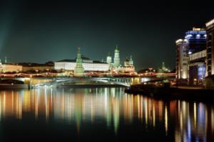 Μόσχα, νυχτερινή φωτογραφία