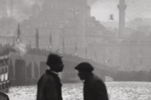 Βόσπορος, άνδρες, λιμάνι, τζαμί