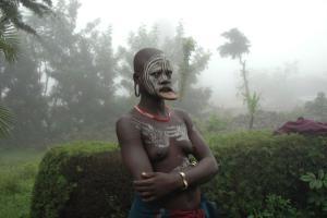 γυναίκα φυλής της Αβησσυνίας