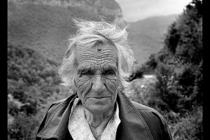 πορτραίτο ηλικιωμένης