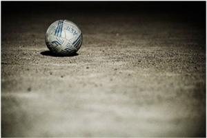 μπάλα στο έδαφος