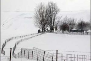 χιονισμενο τοπίο