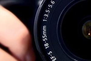 φακός φωτογραφικής μηχανής