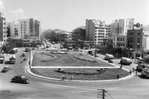 πλατεία Βενιζέλου, άποψη από τη Βόρεια πλευρά της πλατείας
