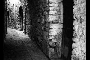 στενό δρομάκι κάστρου