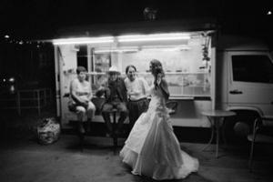 νύφη σε καντίνα