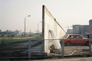 τοίχος, επαρχιακός δρόμος, αυτοκίνητο