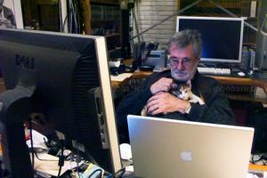 Pedro Meyer, γάτα, υπολογιστές