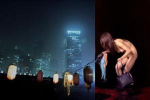 γυμνή κινέζα σε παράσταση