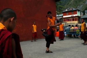 μοναχοί της βόρειας Ινδίας