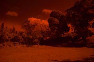 υπέρυθρη φωτογραφία τοπίου