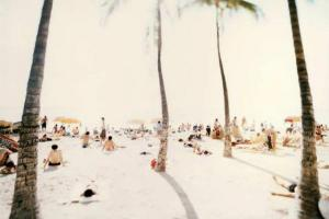 φοίνικες, παραλία, λουόμενοι