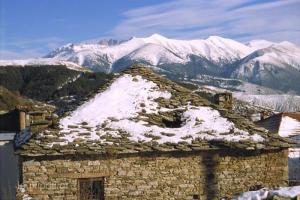 παραδοσιακό πέτρινο σπίτι
