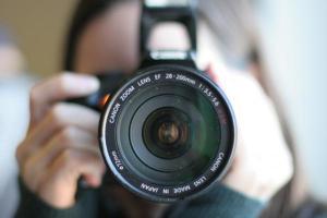 φωτογράφος, φωτογραφική μηχανή