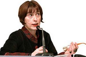 φωτογραφία της εισηγήτριας