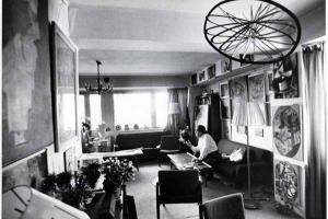 φωτογραφία από το χώρο του σπιτιού του Γιώργου Κωστάκη