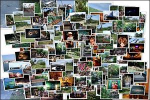 κολάζ με πολλές φωτογραφίες