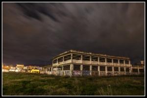 νυχτερινή φωτογραφία, κτίριο
