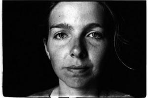 ασπρόμαυρη φωτογραφία, πορτραίτο κοριτσιού