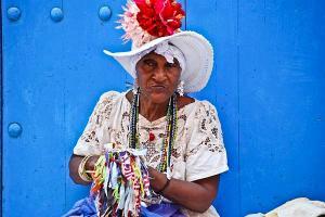 φωτογραφία Βασίλης Βασιλάς γυναίκα από την Κούβα