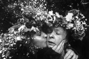 φωτογραφία φιλί στο πρόσωπο